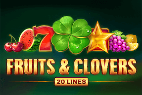 Fruits & Clovers: 20 lines | Игровые автоматы Jokermonarch