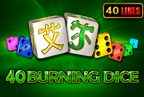 40 Burning Dice | Slot machines Jokermonarch
