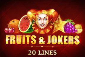 Fruits & Jokers: 20 Lines | Гральні автомати Jokermonarch